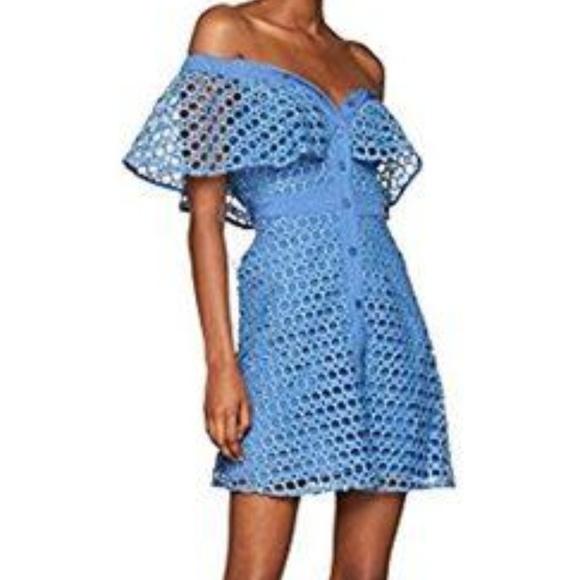 4bce8d2c25 BNWT CROCHET OFF SHOULDER DRESS